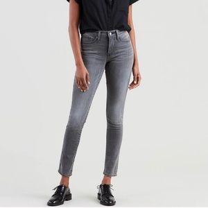 NWT Levi's 311 Shaping Skinny Gray Jean
